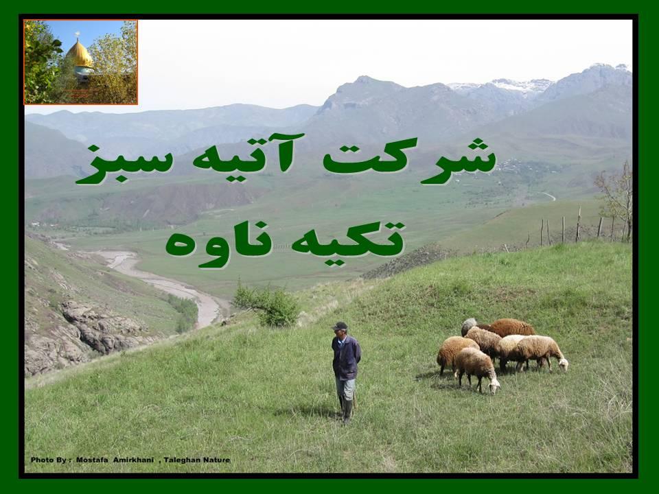 تكيه ناوه ، طالقان ، استان البرز ، تهران ، ايران ، مصطفي اميرخاني